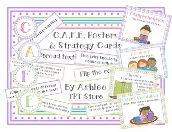 CAFE Posters and Strategy Cards