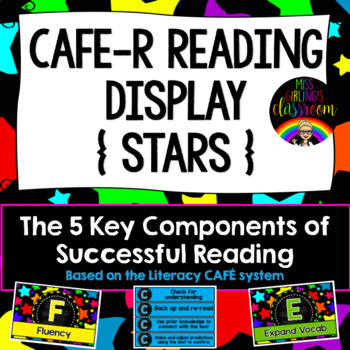 CAFE-R Reading Display - How to be a Successful Reader (Stars)