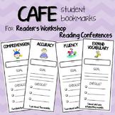 CAFE Reader's Workshop Strategy Bookmarks for Conferencing