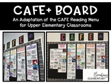 CAFE Reading Menu Bulletin Board for Upper Elementary