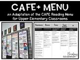 CAFE Reading Menu for Upper Elementary