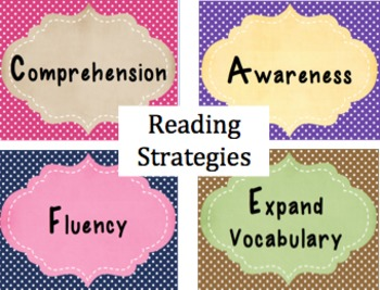 'CAFE' Reading Strategies