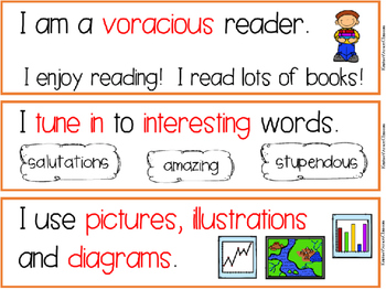 CAFE Reading Strategies Posters