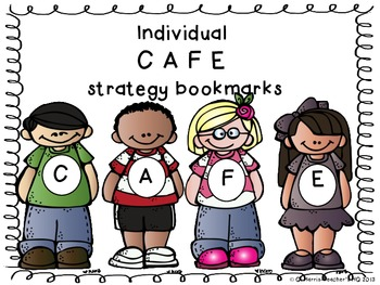 CAFE Reading Strategy Bookmarks