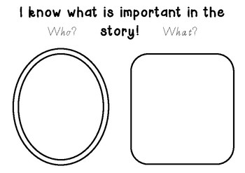 CAFE Strategies - I Know What is Important in the Story
