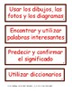 CAFE Strategy Cards in Spanish