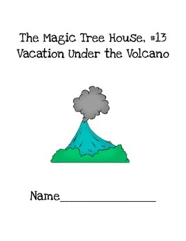 CAFE Strategy Packet to use with Magic Tree House, Vacation Under the Volcano