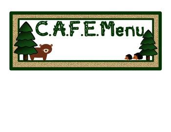 CAFE Wall Headers: Woodland Theme