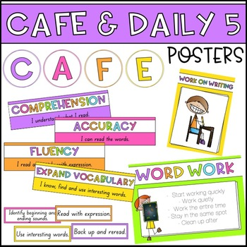 CAFE and Daily 5 Posters