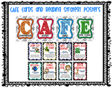 CAFE Board with Visuals and Reading Strategy Posters