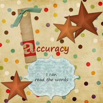 CAFE literacy posters Scrapbook Style