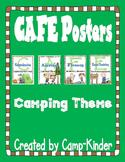 CAFE Menu Cards- Camping theme