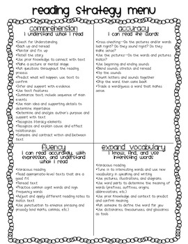 Reading Comprehension and Conferencing Assessment Forms {editable!}