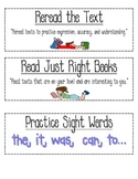 CAFE reading strategies-printable!