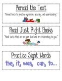 CAFE reading strategies-printable!
