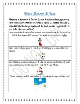 CAHIER D'ACTIVITÉ D'HIVER/WINTER ACTIVITY FUN BOOK