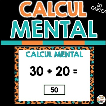 CALCUL MENTAL - Ressource numérique - FRENCH BOOM CARDS