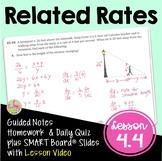 Related Rates (Calculus - Unit 4)
