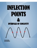 CALCULUS: INFLECTION POINTS AND INTERVALS OF CONCAVITY