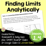 Finding Limits Analytically (Calculus - Unit 1)