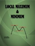 CALCULUS: LOCAL MAXIMUM AND LOCAL MINIMUM