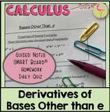 Derivatives of Bases Other Than e (Calculus - Unit 2)