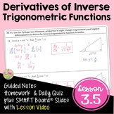 Derivatives of Inverse Trigonometric Functions (Calculus - Unit 3)