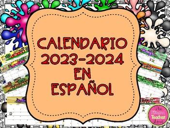 CALENDAR 2015-16 IN SPANISH