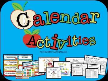 CALENDAR ACTIVITIES(months, days, seasons)