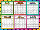 CALENDAR - PLUS BONUS 2 POSTERS FOR 2017,2018