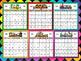 CALENDAR - PLUS BONUS 2 POSTERS FOR 2017,2018