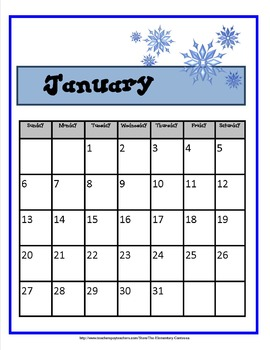 CALENDAR QUIZ ME:  Station Activities For Mastering the Calendar