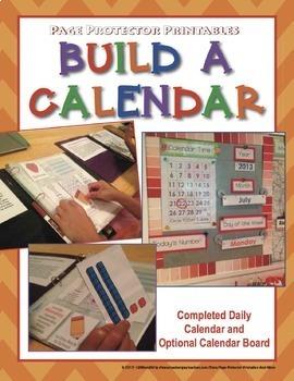 Interactive Notebook Calendar