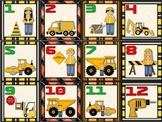 CALENDARIO DE CONSTRUCCION / CONSTRUCTION SPANISH CALENDAR SET