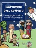 CALENDARIO DELL'AVVENTO - personaggi del presepe
