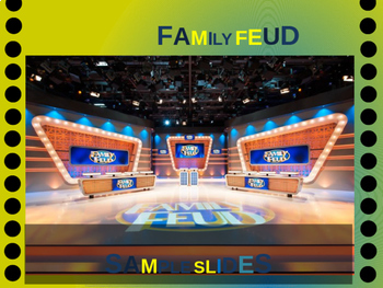 CALIFORNIA FAMILY FEUD! Engaging game about cities, geography, industry & more