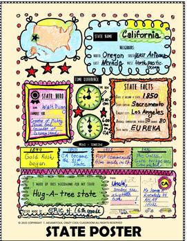 CALIFORNIA FOLDABLE