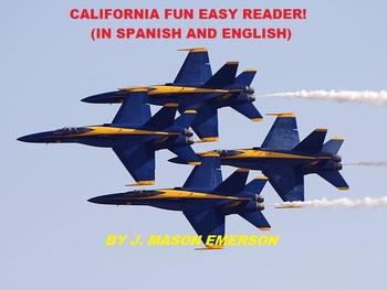 CALIFORNIA FUN EASY READER (SALE, SOME VERY HELPFUL SPANISH TOO)