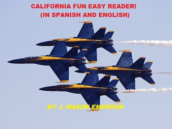 CALIFORNIA FUN EASY READER (SALE, SOME VERY HELPFUL SPANISH TOO)