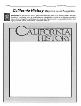 CALIFORNIA HISTORY Magazine Cover assignment