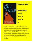 CALL of the WILD tests - PARCC-like