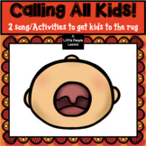 CALLING ALL KIDS To the Rug: 2 Activities to get little kids to the rug quickly