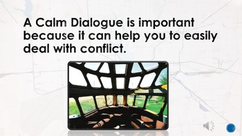 Conflict Resolution; CALM Dialogue Presentation