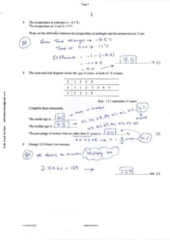 CAMBRIDGE IGCSE MATHEMATICS [0580] FULLY SOLVED PAST PAPER 2 & 4 [2011-2018]