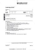 CAMBRIDGE IGCSE MATHEMATICS [0580] FULLY SOLVED PAST PAPER 3 - CORE