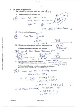 CAMBRIDGE IGCSE MATHEMATICS [0580] FULLY SOLVED PAST PAPER 4 -EX'-2011-2018