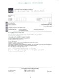 CAMBRIDGE IGCSE MATHEMATICS [0580] FULLY SOLVED PAST PAPER
