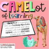 CAMELot of EDITABLE Learning Objectives!