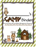 C.A.M.P. Binder Bundle