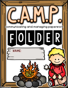 CAMP Binder Covers (Black and White and Color Ink Friendly Version)